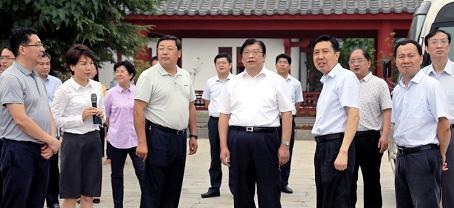 副省长张广智调研芒砀山旅游区5A创建及文化旅游发展工作